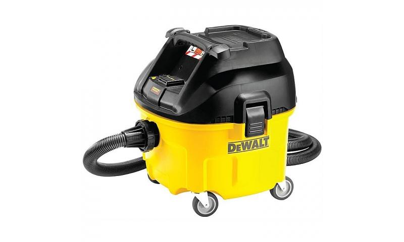 DeWalt DWV901L 30 Litre Dust Extractor L Class  110v