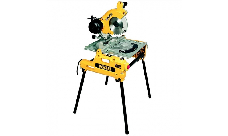 DeWalt DW743N 110V Flip Over Combination Saw 250mm