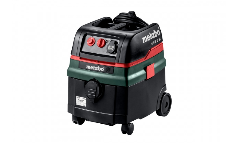 Metabo ASR25L SC 110v Wet & Dry Vacuum Dust Extractor (L CLASS)
