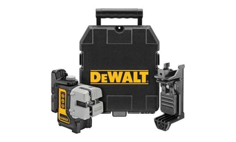 DEWALT DW089K 3 Way Self-Leveling Multi Line Laser