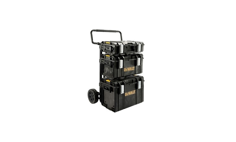 DeWalt 170349 1-70-349 Toughsystem Trolley Set with DS150, DS300 and DS400 Boxes