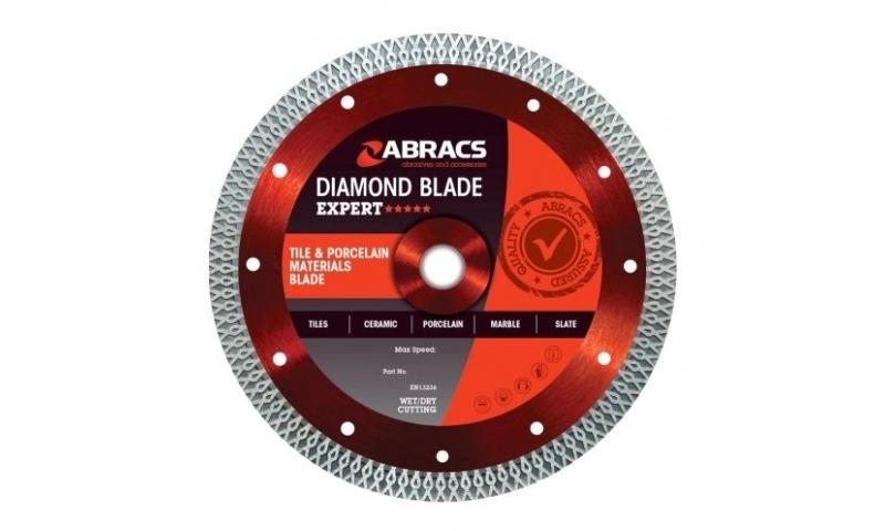 ABRACS ABDCR115 TILE CUTTING BLADE 115MM-22MM-1.2MM