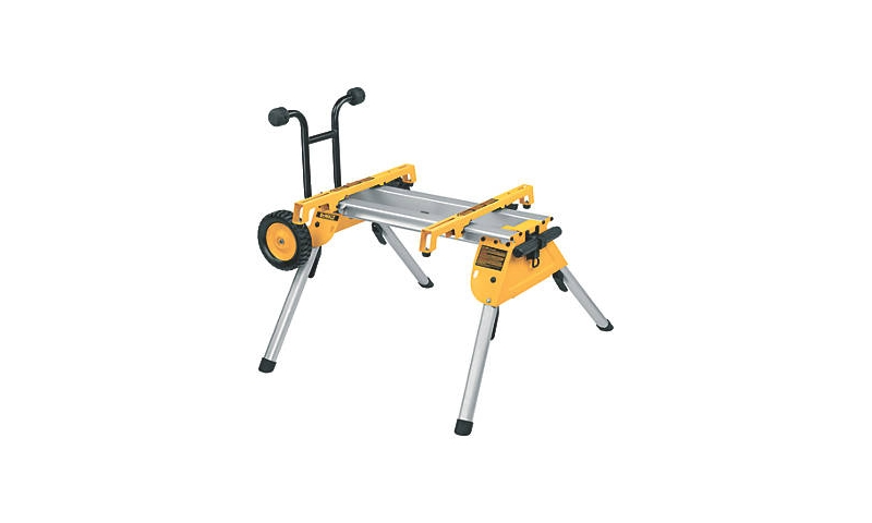 DEWALT HEAVY DUTY ROLLING SAW WORKSTATION (DE7400-XJ) suited for dwe7485/dcs7485