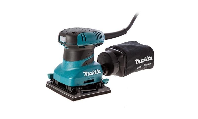 Makita BO4555 240v Hook and Loop Palm Sander