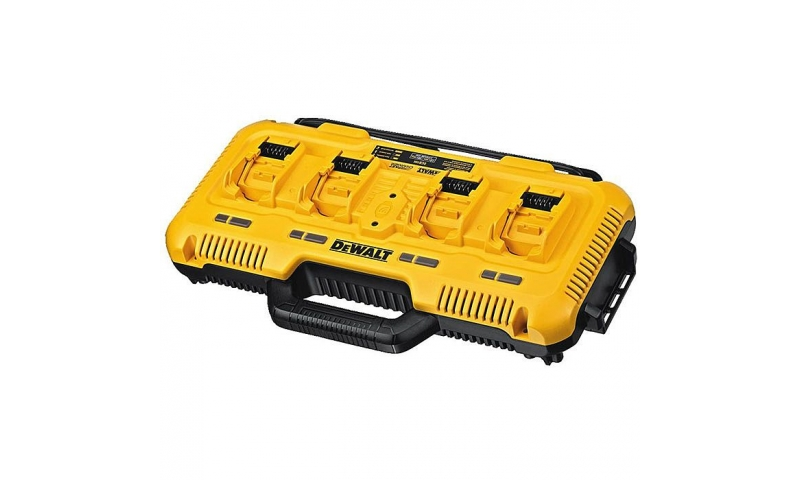 DEWALT DCB104 XR 110V 4 Port Fast Charger For 18V & 54V