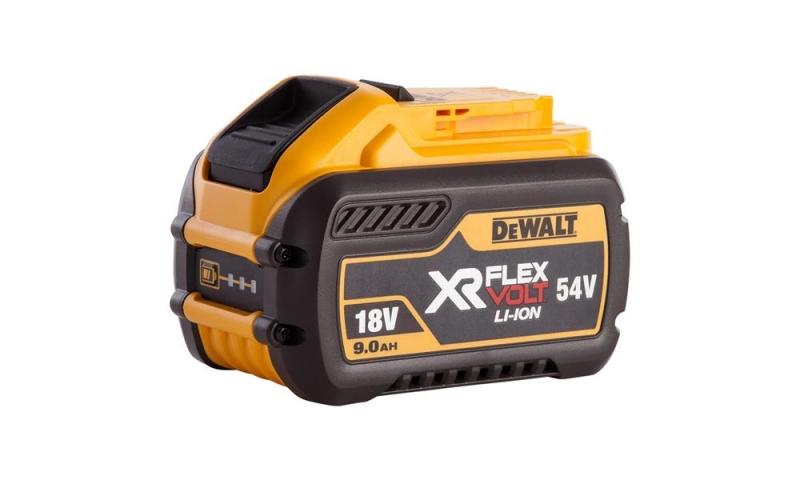 DeWalt DCB547 18V/54V XR FLEXVOLT 9.0Ah Li-Ion Battery