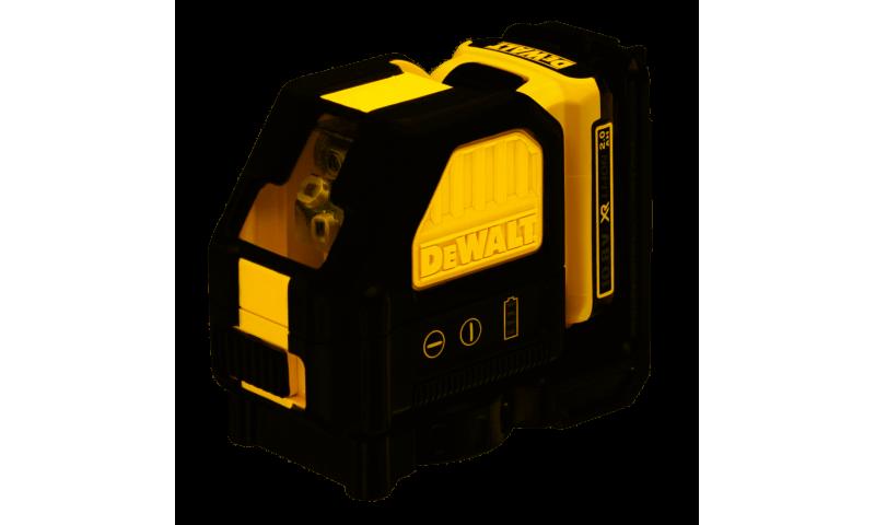 Dewalt DCE088D1G 10.8V Green Self Levelling Cross Line Laser (1 x 2.0Ah Battery)