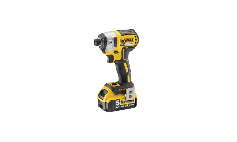 DeWalt DCF887P2-GB 18V 2x5.0Ah Li-ion Brushless 3 Speed Impact Driver