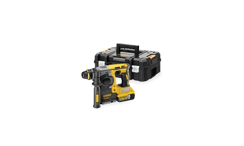 DeWalt DCH273P2 18V XR SDS+ Hammer Drill Kit with 2 x 5.0Ah Li-Ion Batteries