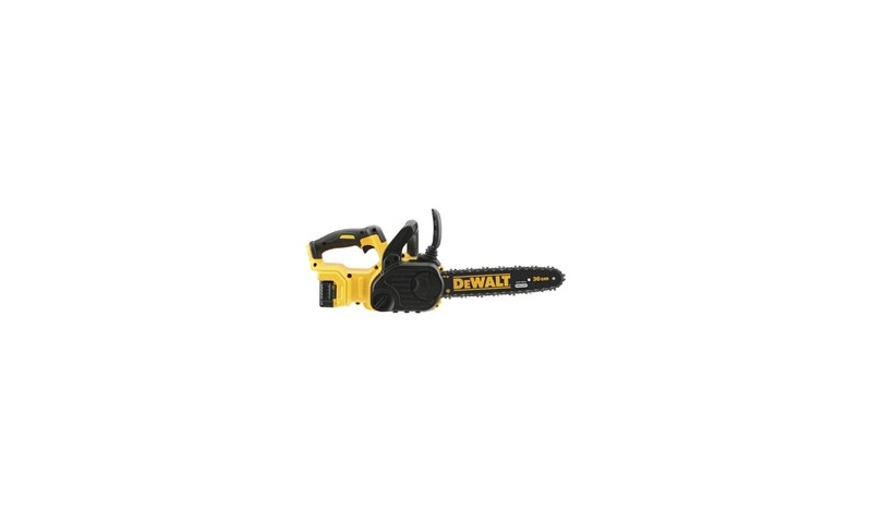 DeWalt DCM565P1 18V Brushless XR Cordless Chainsaw 30cm With 1 x 5.0Ah Battery