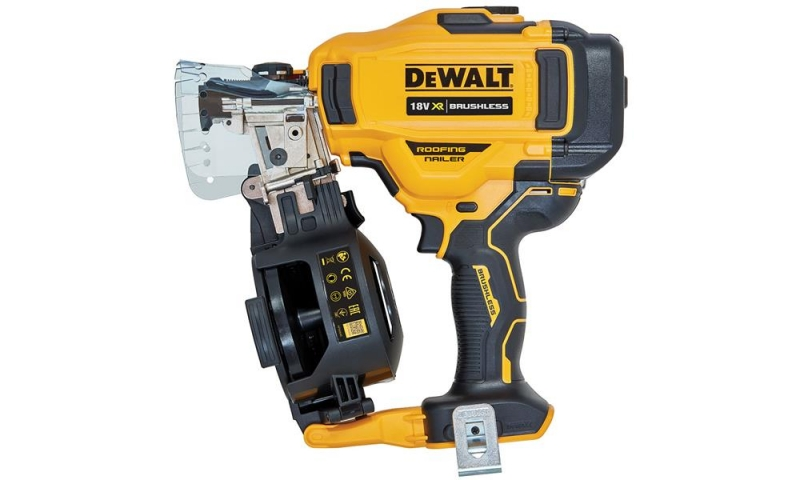 DEWALT DCN45RNN-XJ 18V XR Brushless Roofing Coil Nailer Body Only