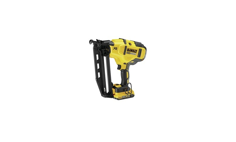 DeWalt DCN660D2 18V XR 2nd Fix Brushless Nailer Kit with 2 x 2.0Ah Batteries