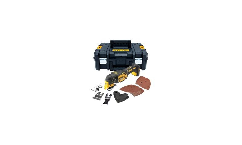 DEWALT DCS355n-GB 18V XR BRUSHLESS OSCILLATING MULTI-TOOL KIT BODY ONLY
