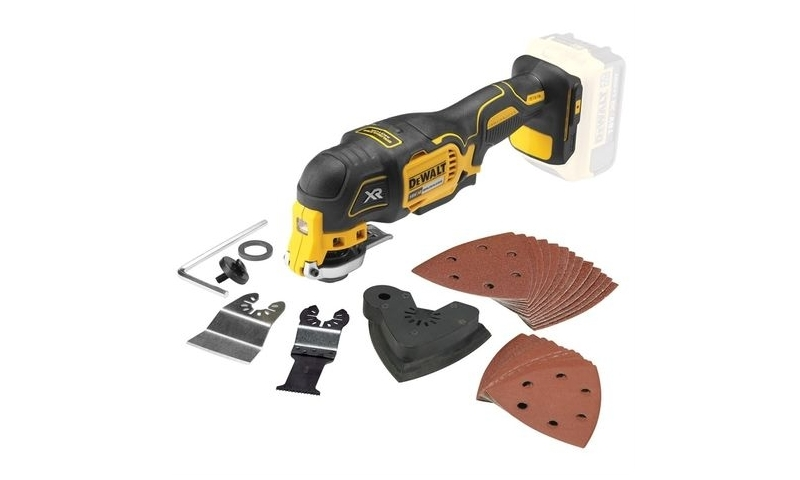 DeWalt DCS355N 18V XR Brushless Multi-Tool with 29pc Accessory Set (Body Only)