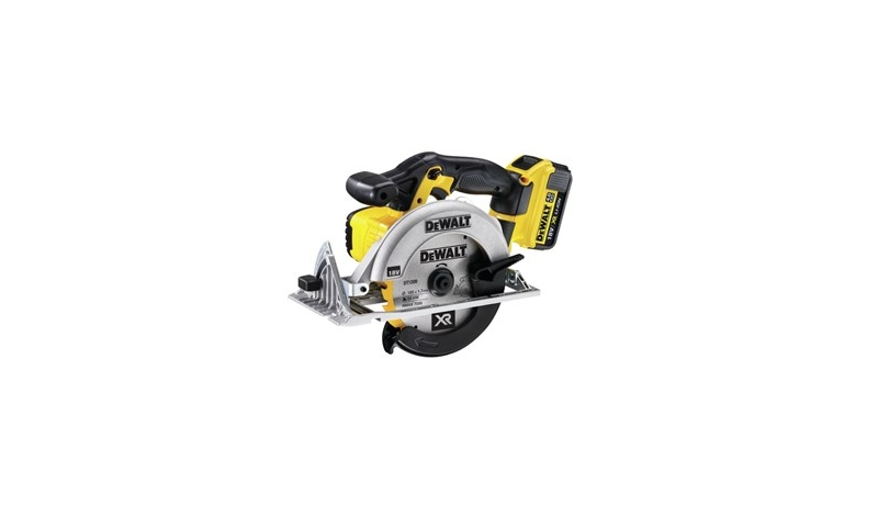 Dewalt 18V XR Li-Ion 165MM Circular Saw Kit (2 X 5AH Batteries) (DCS391P2)
