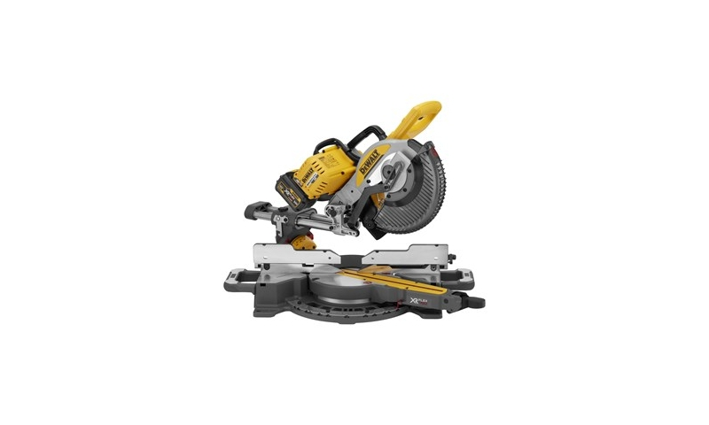 Dewalt 54 Volt XR 250mm Flexvolt Cordless Mitre Saw, Comes with 2 x 6 amp Batt (DCS727T2)