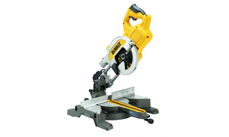 DeWalt DCS777N-XJ 54v XR FLEXVOLT 216mm Mitre Saw Body Only
