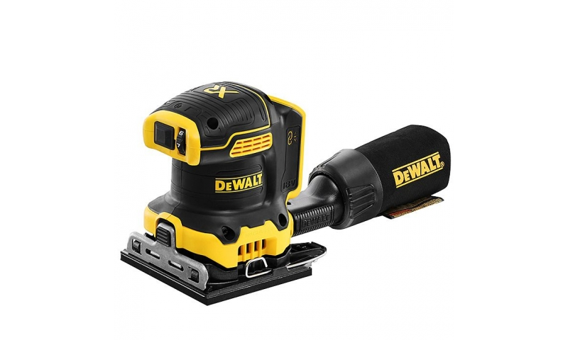 Dewalt DCW200 18v XR Brushless 1/4 Sheet Orbital Sander - Body Only