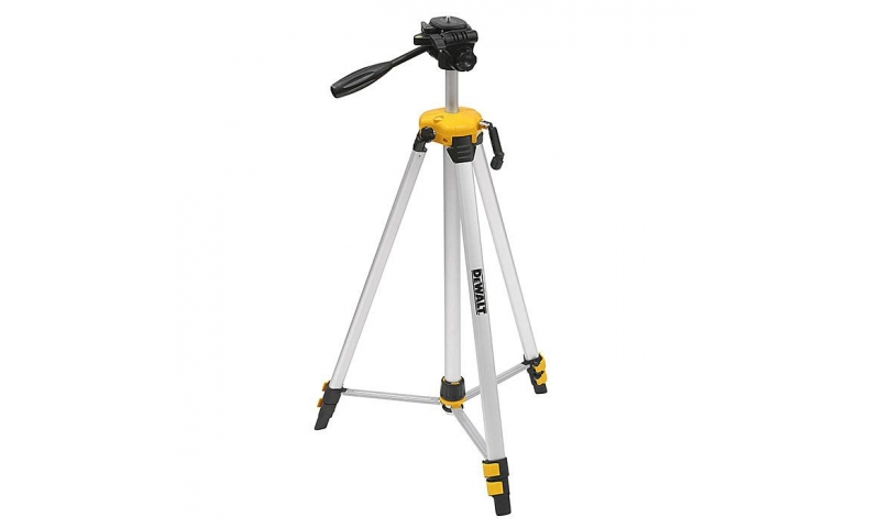 "DEWALT DE0881T 1/4"" Small Elevated Laser Tripod 75-184cm"