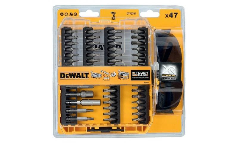 DeWalt DT70704-QZ Screwdriver Bit Set 47pc