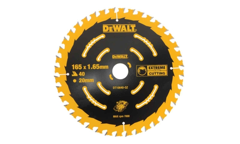 Dewalt DT10640 Extreme Framing Saw Blade (165 x 1.65 x 20mm)