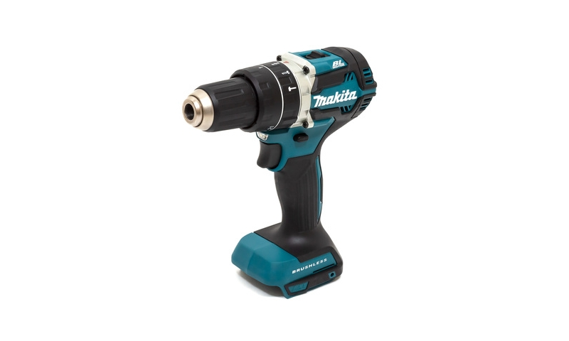 Makita DHP485Z 18V LXT Lithium Ion Brushless Combi Hammer Drill