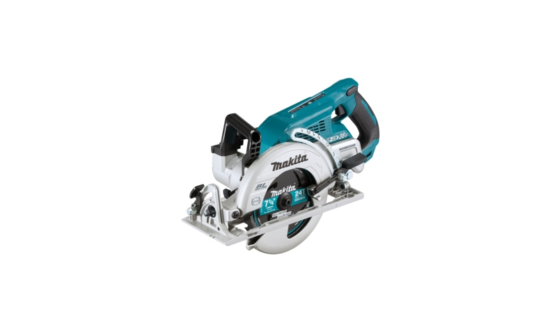 Makita DRS780Z Twin 18v / 36v 185mm Cordless Rear Handle Circular Saw LXT - Body Only