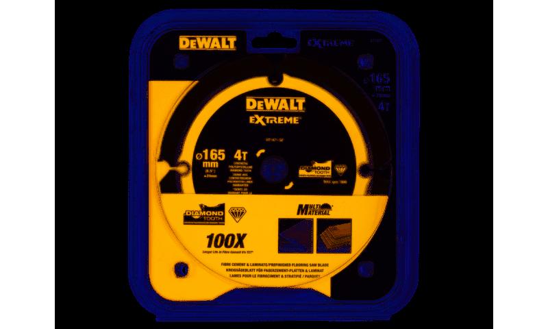 Dewalt DT1471-QZ Dewalt Extreme PCD Saw Blade 165mm x 20mm 4T