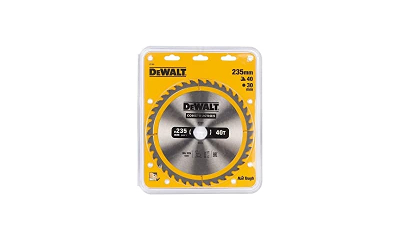 Dewalt 235mmx30mm x 40 teeth Tct Saw Blade (Dt1955-qz)