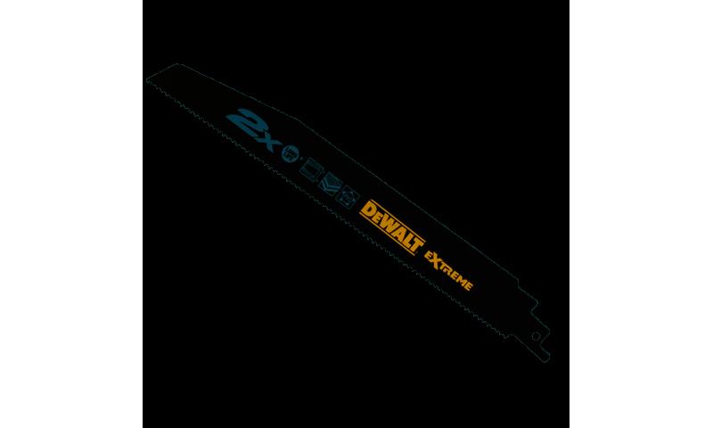 DeWalt DT2301L 2X Life General Purpose Reciprocating Blades 228mm