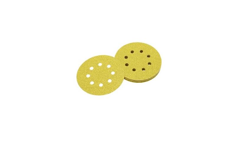 DeWalt 125mm 120 grit Multi Purpose Sanding Discs x 10 Pack (DT3105-QZ)