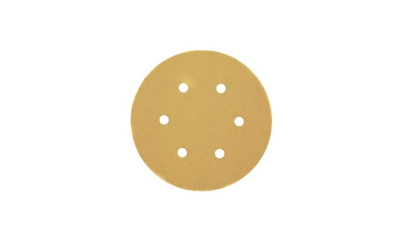 DeWalt Multi Purpose Sanding Discs 150mm x 120 grit x 10 Pack (DT3125-QZ)