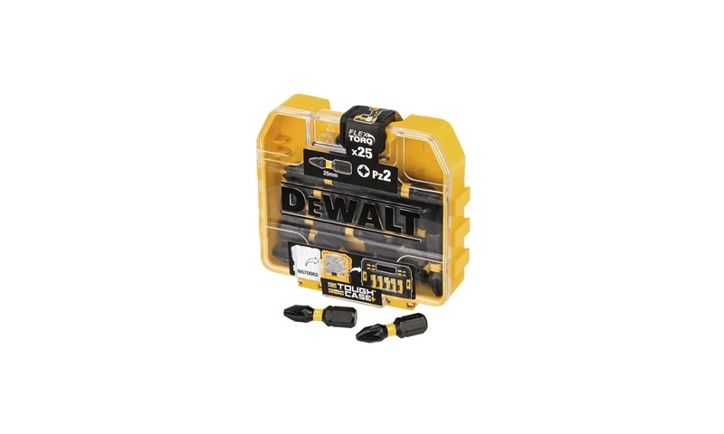 DeWalt DT70556T-QZ PZ2 25mm Extreme Torsion Bit Set Tic Tac