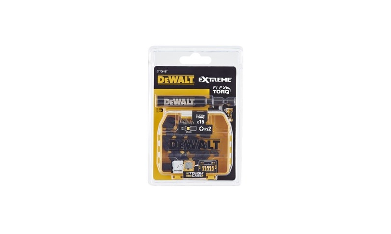 DeWalt DT70618TQ 25mm PZ2 Impact Torsion Bits Box of 15