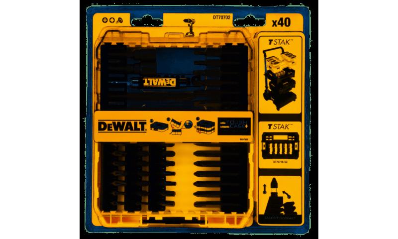 DEWALT DT70702-QZ X 40 PC SCREWDRIVER BIT SET
