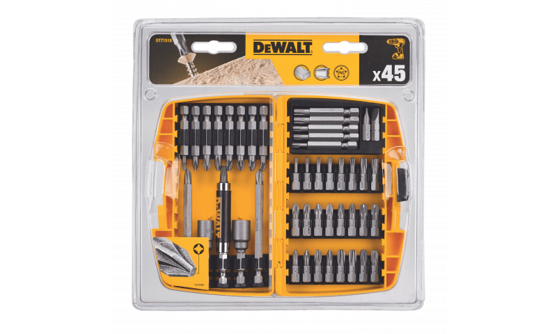 DEWALT DT71702-QZ 45PC SCREWDRIVING BIT SET