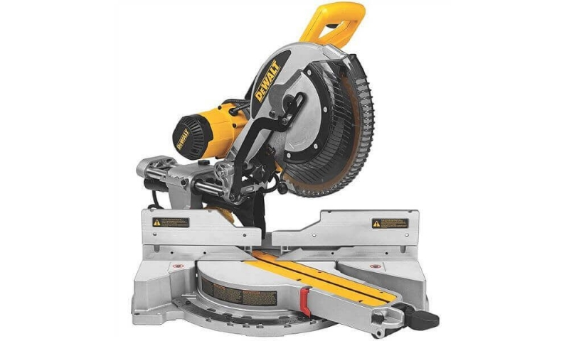 DeWalt DWS780 110V 305mm Compound Slide Mitre Saw with XPS