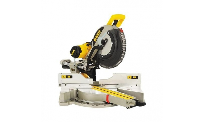 DeWalt DWS780-GB 220V 305mm Compound Slide Mitre Saw with XPS