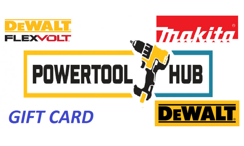 POWERTOOLHUB GIFT VOUCHER €50.00 - €500.00 Inc. VAT