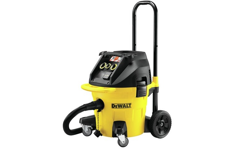 DeWalt DWV902M 220V 38L M Class Wet & Dry Construction Dust Extractor