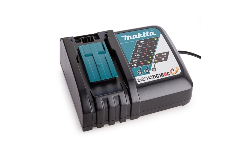 Makita DC18RC 7.2V-18V LXT Multi-Voltage Compact Charger