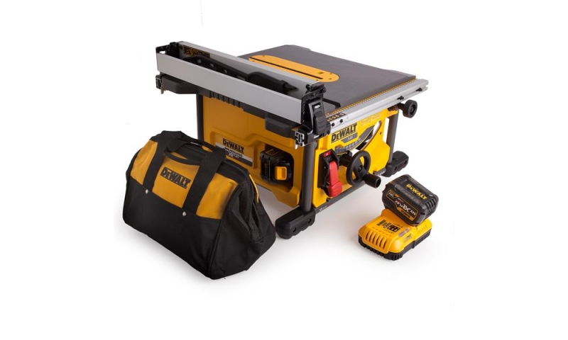 DeWalt DCS7485T2 54V XR FLEXVOLT Cordless Table Saw with 2 x 6.0Ah Batteries