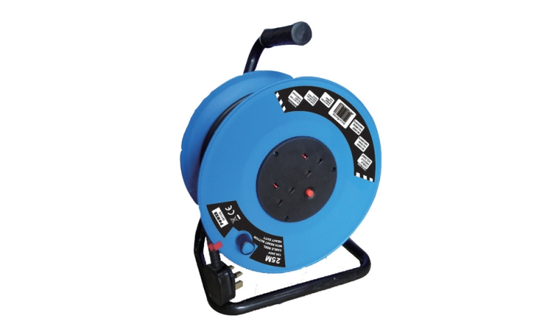 Power 25M 13A 220V 2.5Sq Cable Reel