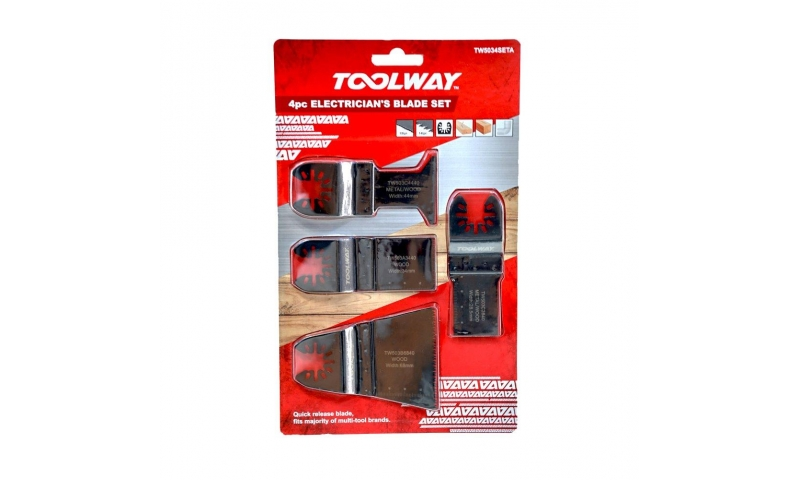Toolway 4pc Electricians Set TW5035Seta