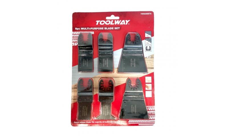 Toolway 8pc Multi Purpose Set TW5038Seta
